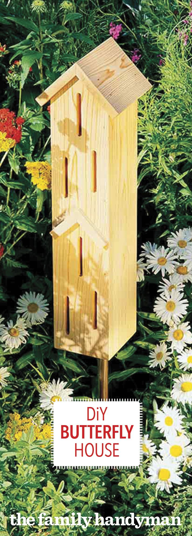 How to Make a DIY Butterfly House