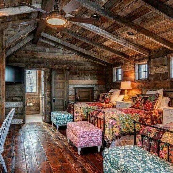 Schlafzimmer, Cottage Stil Schlafzimmer, Ländliche Schlafzimmer, Blockhaus  Schlafzimmer, Rustikale Schlafzimmer, Rustikales Zimmer, Rustikale Wände,  ...