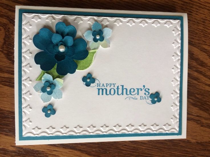 StampinUp Mother's Day card designed by demo Beth McCullough.  Please see more card and gift ideas at www.StampingMom.com #StampingMom