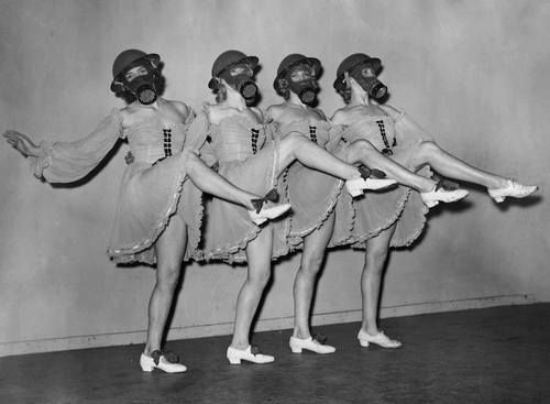 Dancers at the Windmill Theatre in London, 1940.  - Dedication to the Arts