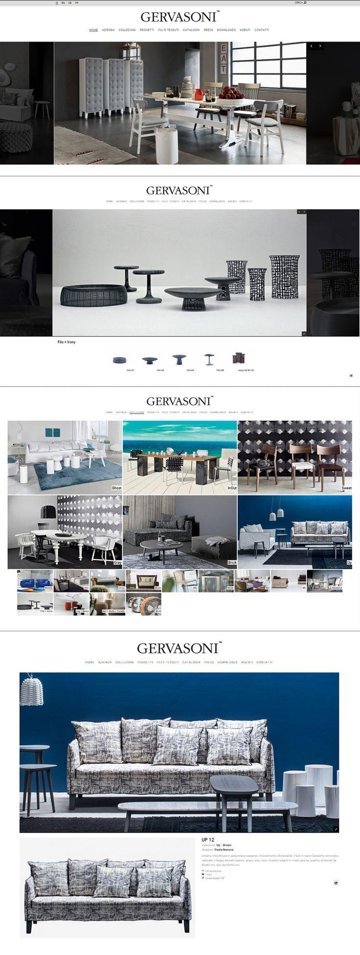 #Gervasoni è una delle più importanti #firme del #madeinitaly con sede in #FriuliVeneziaGiulia ma con #puntivendita in tutto il mondo. Le #collezioni di #arredi #moderni e dal #design raffinato sono disegnate tra gli altri da #PaolaNavone e sono presenti nelle dimore più sofisticate e nei progetti di #contract delle #location più prestigiose. www.gervasoni1882.com