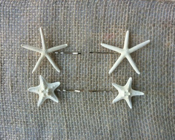 Starfish Hair Accessories Starfish Hair Clips  2 by MermaidStyles