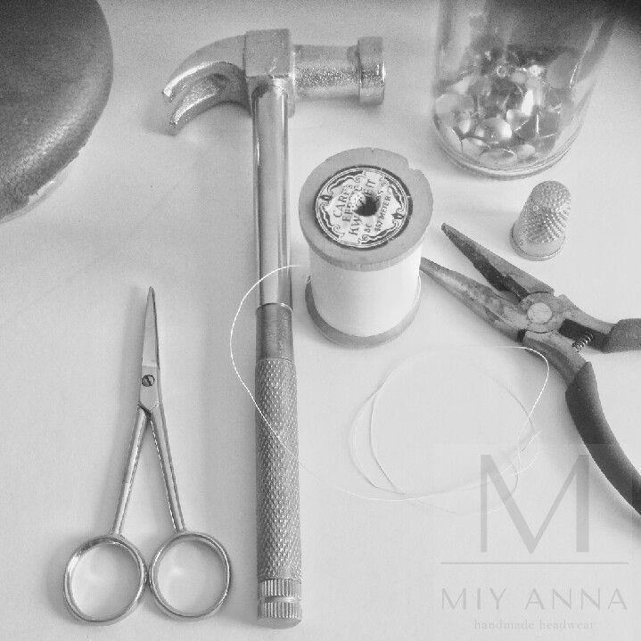 MIY ANNA     Tools   #headwear #craftmanship       www.miyanna.nl