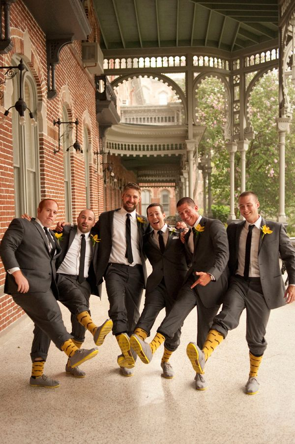 Great style from these groomsmen! #matching #groomsmen