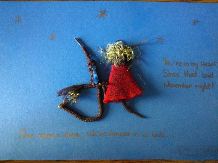 Our Story On a Card - a történetünk egy képeslapon