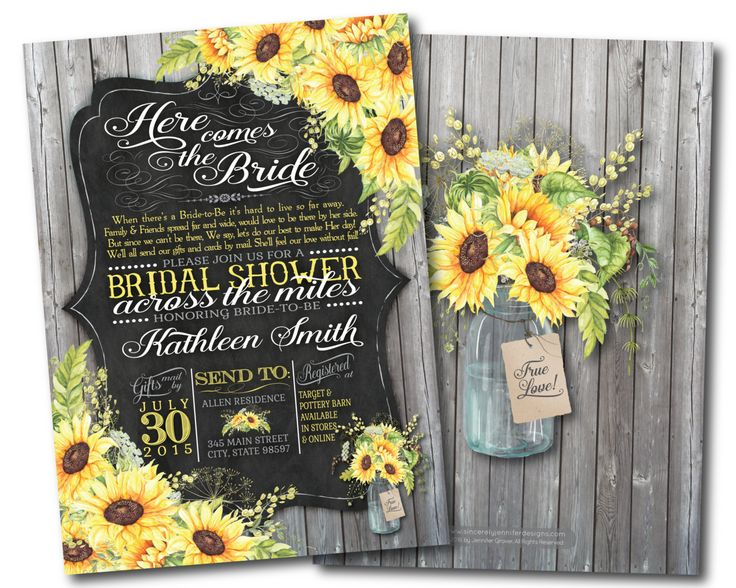 Long Distance Relationship Wedding Invitation: 1000+ Ideas About Yellow Bridal Showers On Pinterest