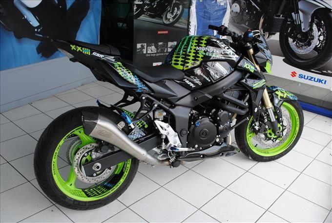 GSR 750 Monster