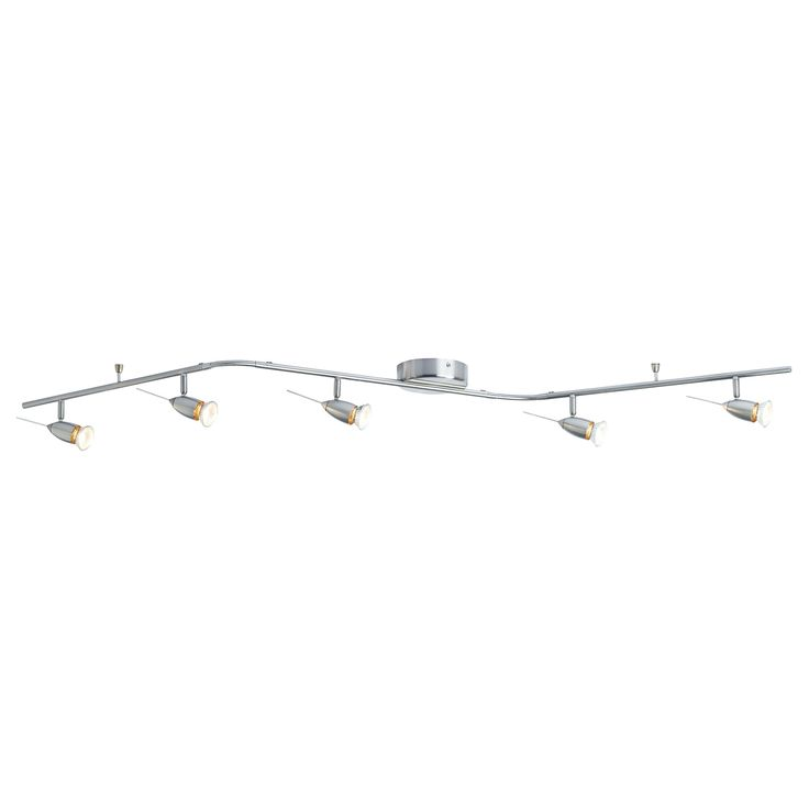 might be neat to have something like this running down the hallway if we put art in it HUSINGE Ceiling track, 5-spots - IKEA $29.99
