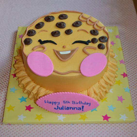 Shopkins Kooky Cookie  on Cake Central