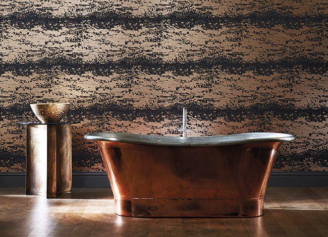 Harlequin - Designer Fabric and Wallcoverings | Leonida Wallpapers Loving metallic wallpapers!