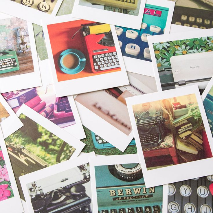 Typewriter Assorted Note Cards (Set of 20) Note cards