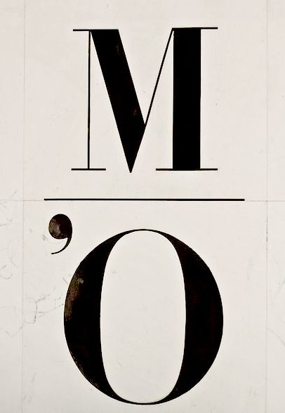 Bruno Monguzzi logo for the Musee d'Orsay, 1986.