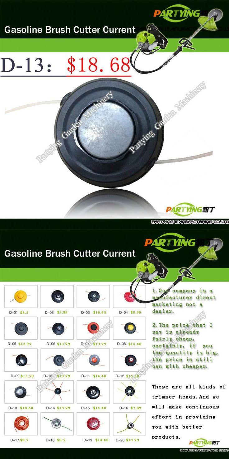 Free Shipping buy 2 get 1 free petrol lawn mower trimmer 4-stroke brush cutter head grass cutting machine gasoline plastic  D-13