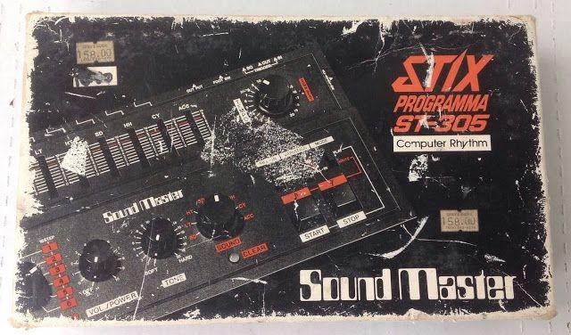 MATRIXSYNTH: 1982 SoundMaster Stix Programma ST-305 Computer Rh...