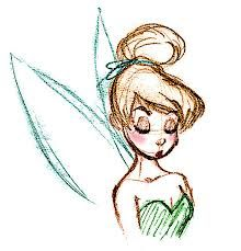 tumblr drawings easy tinkerbell - Google Search