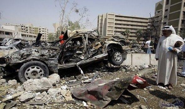 انفجار سيارة مفخخة في منطقة الصالحية في…: انفجار سيارة مفخخة في منطقة الصالحية في العاصمة العراقية بغداد