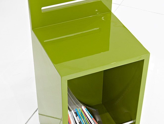 Banco móvel com prateleira :: Mobile bench with shelf #FabriDesignAttitude