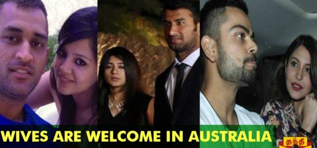 BCCI allows Wives & Girlfriends Accompany The Players - ICC World Cup 2015New Delhi: The Indian cricket group has been remunerated for making it to the quarter-finals of the ICC World Cup 2015 as BCCI on Monday permitted Wives & Girlfriends (WAGs) to go with the players.  : ~ http://www.managementparadise.com/forums/icc-cricket-world-cup-2015-forum-play-cricket-game-cricket-score-commentary/281090-bcci-allows-wives-girlfriends-accompany-players-icc-world-cup-2015-a.html