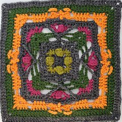 The Kalevala CAL is a blanket project where each participant can crochet their own Kalevala inspired blanket. CAL starts on 26th of August.