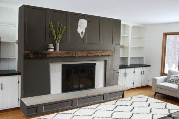 26 Best Images About Remodeling Fireplace Surround On