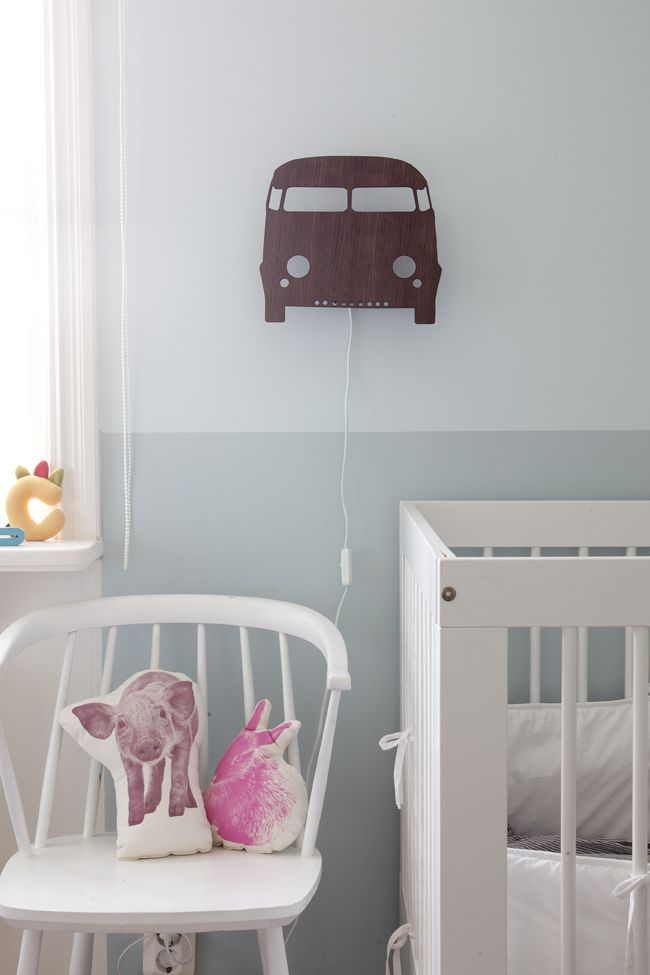 Ferm Living wandlamp auto #kinderkamer | Car lamp kids room #kids