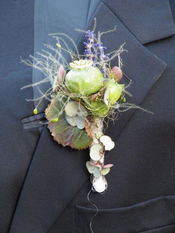 Hochzeit Bräutigam Anstecker