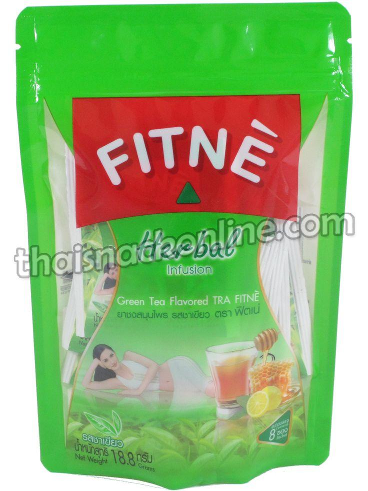 Fitne' Herbal Infusion Green Tea (19g) (มีรูปภาพ)