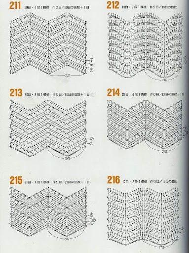 78378307d33e146009a39f665ea59c4b.jpg 383×512 pixels #crochet #chevron #stitch #chevronstitch #crochetstitch