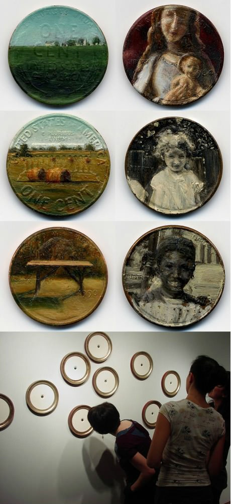 Painted coins