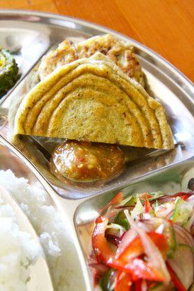 バラ=豆のお焼き=ネパール料理 by ダウリ [クックパッド] 簡単 ...