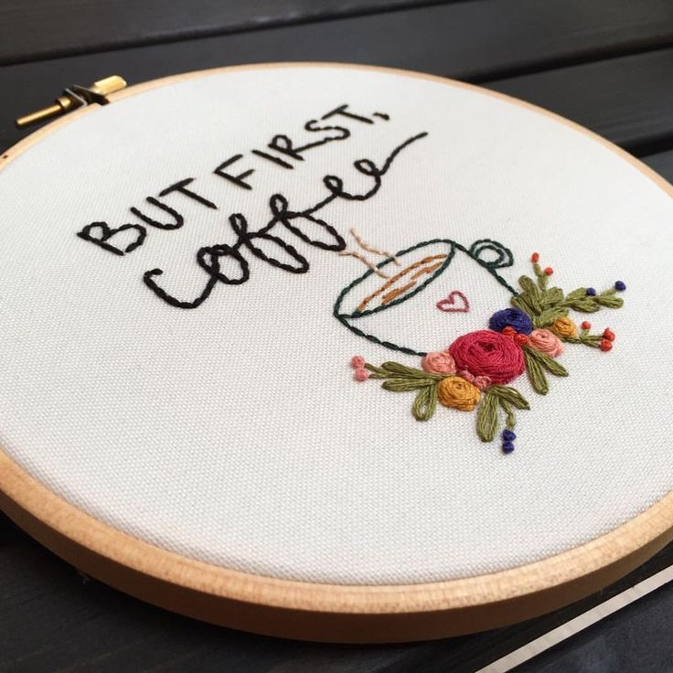 """257 Beğenme, 3 Yorum - Instagram'da @zezehandcraft: """"☕️✌🏻.. . . . . . . . #embroidery #embroider #embroidered #embroideryartist #embroideries…"""""""