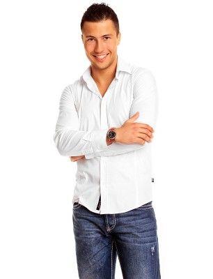 Carisma camisa formal slim fit | white