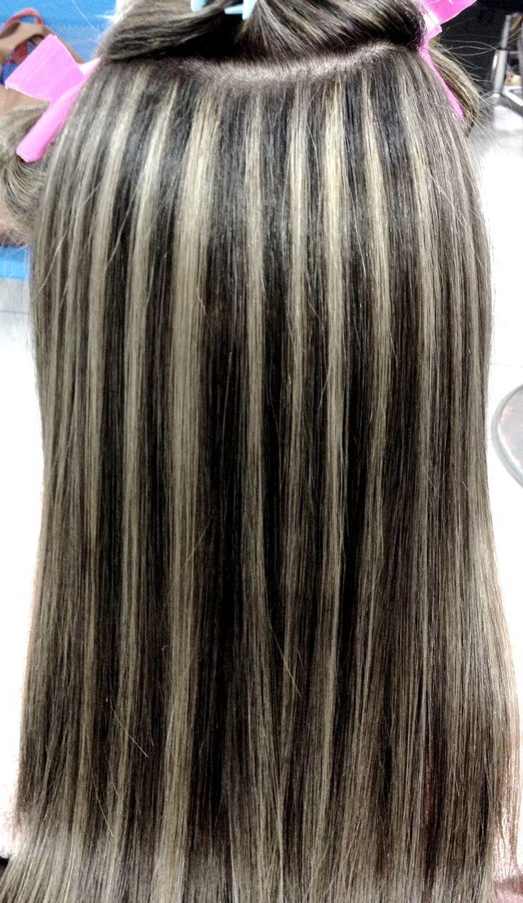 Mechas Hair Style Pinterest