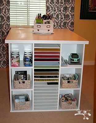 Lookie What I Did: Craft Room
