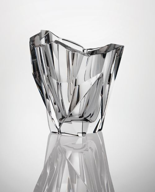 JÄÄVUORI (ICEBERG), A GLASS VASE TAPIO WIRKKALA FOR IITTALA, DESIGN 1952
