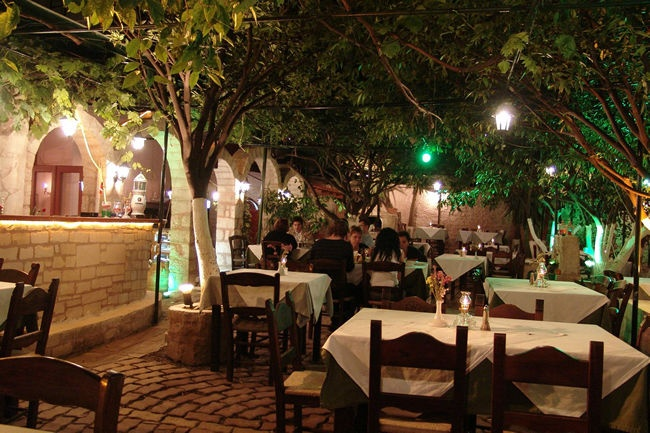 Lemonokipos (Lemon Tree Garden) Taverna, Cafe - Bar, Rethymno Old Town, Crete