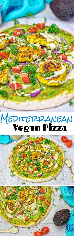 Mediterranean Vegan Pizza