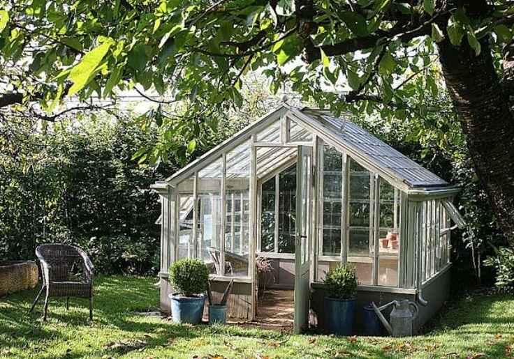 1000 idee n over serre jardin op pinterest fabriquer - Fabriquer sa serre de jardin ...