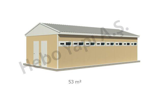 Wc-Duş Binaları