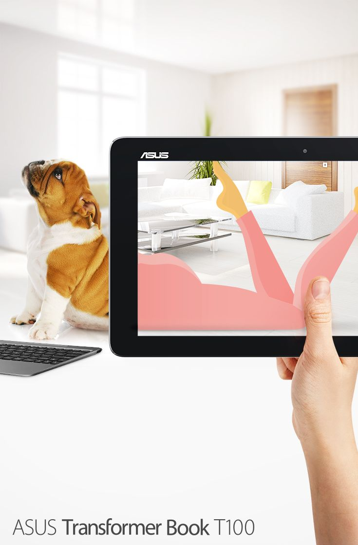 The Transformer Book T100HA is more than meets the eye. It's a fun 2-in-1 powerful laptop & tablet combined.