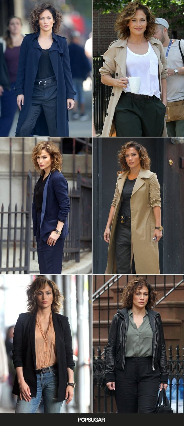 Pin for Later: Your New Street Style Star: Jennifer Lopez's Shades of Blue Character