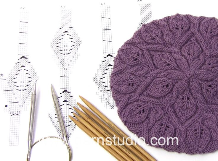 DROPS Knitting Tutorial: How to work chart A.1, A.1 and A.3 in DROPS 165-39