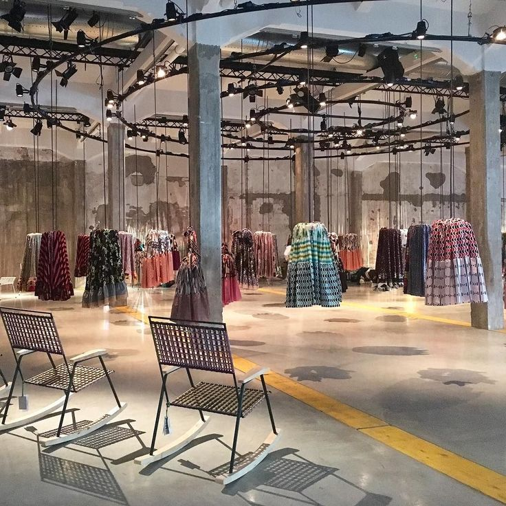 Inspired by Cumbia an ancient Colombian dance for couples #Marni presents its new interiors collection alongside an installation which references the traditional full circular skirts worn by dancers.  by @claire_dicko #editortakeover #mdw16 #milandesignweek2016 #fuorisalone #milan2016 #milanogram2016 by wgsn