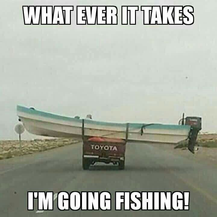 Gone fishin' ...