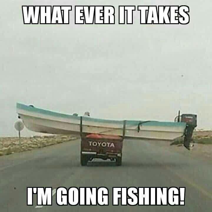 Gone fishin' ...