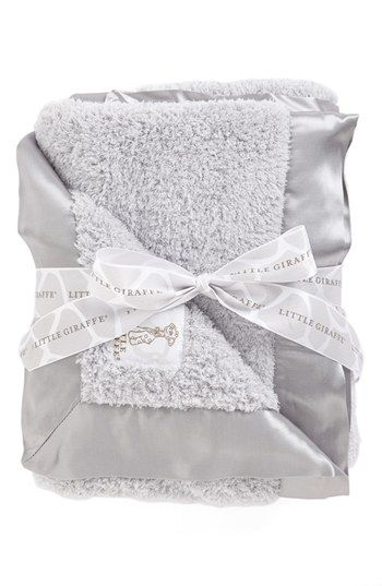 Little Giraffe Chenille Blanket available at Nordstrom. These are THE softest blankets!