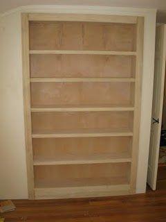 How To Convert A Closet Into A Bookcase - A Concord Carpenter