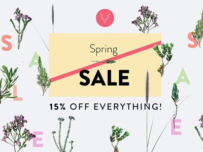 Titch Spring Sale Banner by Cobus Esterhuyse