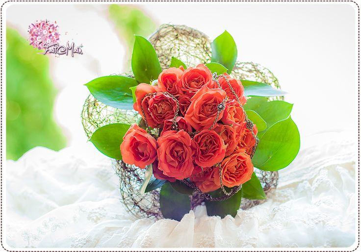 """Moyen Age"" Bridemaid bouquet"