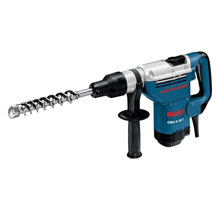Bosch GBH5-38D Hammer Drill Supplied with: Carrying case, Auxiliary handle, Machine cloth, Grease tube...Bosch Tools Uk;EAN3165140256919; EAN3165140256902